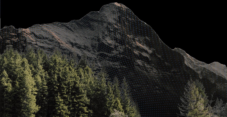 Berg in der Schweizer Natur